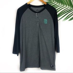 Nike SB Mens Henley Casual XL
